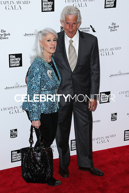 NEW YORK CITY, NY, USA - APRIL 28: Jamie Deroy, Tony Roberts at the 41st Annual Chaplin Award Gala held at Avery Fisher Hall at Lincoln Center for the Performing Arts on April 28, 2014 in New York City, New York, United States. (Photo by Jeffery Duran/Celebrity Monitor)