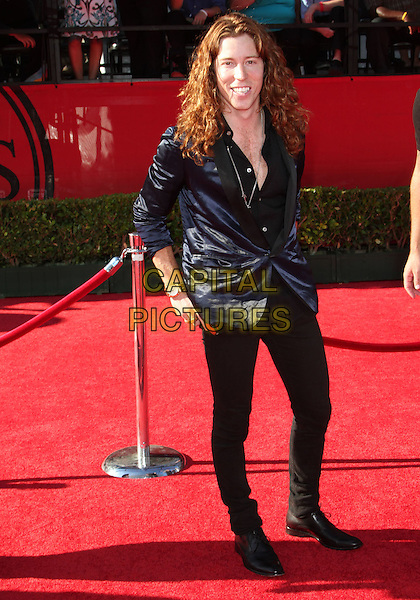 SHAUN WHITE .18th Annual ESPY Awards - Arrivals held at The Nokia LA Live, Los Angeles, CA, USA, 14th July 2010..espys full length navy blue black shirt jacket trousers .CAP/ADM/KB.©Kevan Brooks/AdMedia/Capital Pictures.