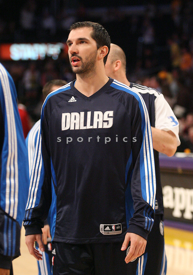 PEJA STIJAKOVIC, of the Dallas Mavericks in action during the Mavericks game against the LA Lakers, on March 31, 2011 in Los Angeles, California. The Lakers beat the Mavericks 110-82.
