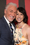 Patrick Page and Paige Davis attends Broadway Opening Night After Party for 'Hadestown' at Guastavino's on April 17, 2019 in New York City.