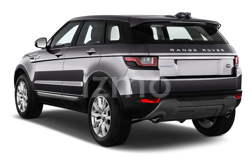 Car pictures of rear three quarter view of 2016 Land Rover Range Rover Evoque HSE 5 Door Suv Angular Rear