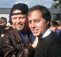 #JohnVoight #BrandonTartikoff 1993<br /> Photo By John Barrett/PHOTOlink.net