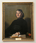 Vincentian artwork, Loop Campus; Jean-Baptiste Etienne, C.M., 14th Superior General, Congregation of the Mission. Unknown French artist, c. 1850,  framed art, painting (DePaul University/Jamie Moncrief)
