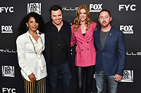 "LOS ANGELES - APRIL 24: Penny Johnson, Seth MacFarlane, Adrianne Palicki and Scott Grimes attend a red carpet FYC event and panel for FOX's ""The Orville"" at the Pickford Center for Motion Picture Study Linwood Dunn Theater on April 24, 2019 in Los Angeles, California. (Photo by Vince Bucci/Fox/PictureGroup)"