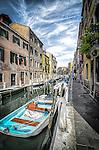 Canal in Dorsedoro sestiere, Venice, Italy