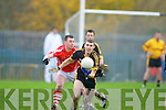Mike Moloney Crokes Mike Crowley Moanleen Crokes v Moanleen in the Munster Club Championship Quarter Final in Killarney on Sunday.