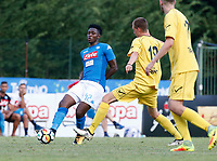 Amadou Diawara  of Napoli during a preseason friendly soccer match against Aunania in Dimaro's Stadium   12 July 2017