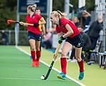 AMSTELVEEN  - Josien Galama (Lar) , hoofdklasse hockeywedstrijd dames Pinole-Laren (1-3). COPYRIGHT  KOEN SUYK