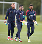 Jak Alnwick, Liam Kelly and Wes Foderingham