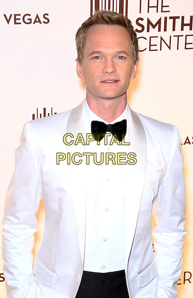 Neil Patrick Harris.Grand opening of The Smith Center for the Performing Arts, Las Vegas, Las Vegas, Nevada, USA, .10th March 2012..half length white jacket black bow tie tuxedo .CAP/ADM/MJT.© MJT/AdMedia/Capital Pictures.