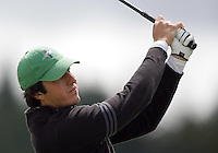 20 May, 2010:  Loyola Universities Alex Redfearn drives the ball off the tee on hole one of the NCAA Division I Regionals tournament Thursday at Gold Mountain Golf Course in Bremerton, WA.