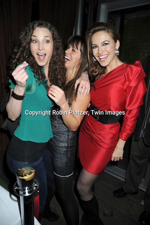 actresses Alicia Minshew, Melissa Claire Egan and Chrishell Stause of All My Children
