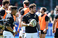 Danny Cipriani of Wasps looks on during the pre-match warm-up. Aviva Premiership Semi Final, between Saracens and Wasps on May 19, 2018 at Allianz Park in London, England. Photo by: Patrick Khachfe / JMP