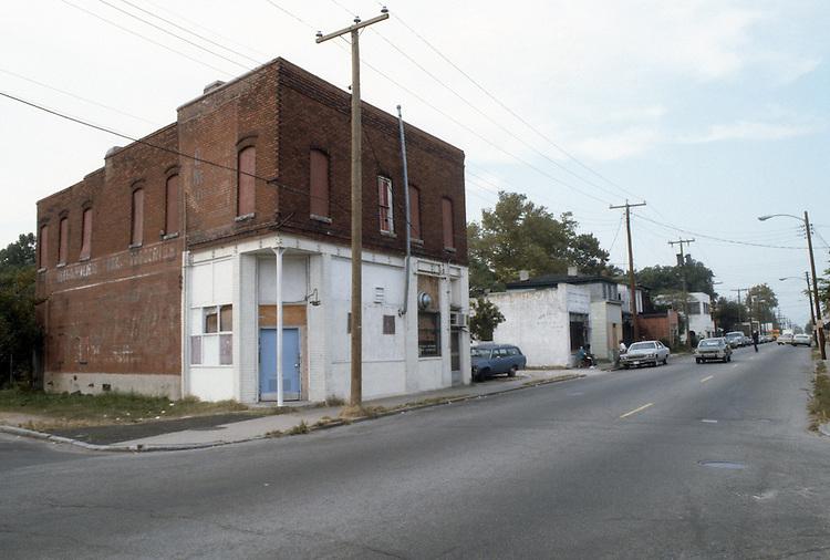 1982 October..Redevelopment.Church Street..CHURCH STREET AT GOFF STREET...NEG#.NRHA#..