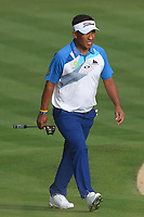 Thongchai Jaidee (THA) on the 3rd fairway during Round 1 of the Omega Dubai Desert Classic, Emirates Golf Club, Dubai,  United Arab Emirates. 24/01/2019<br /> Picture: Golffile | Thos Caffrey<br /> <br /> <br /> All photo usage must carry mandatory copyright credit (&copy; Golffile | Thos Caffrey)