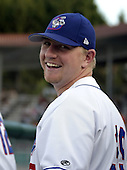 August 9, 2004:  Pitcher David Purcey of the Auburn Doubledays, Short-Season Single-A affiliate of the Toronto Blue Jays, during a game at Falcon Park in Auburn, NY.  Photo by:  Mike Janes/Four Seam Images