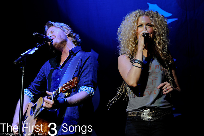 Little Big Town performs at Blossom Music Center on May 13, 2011 in Cleveland, Ohio.
