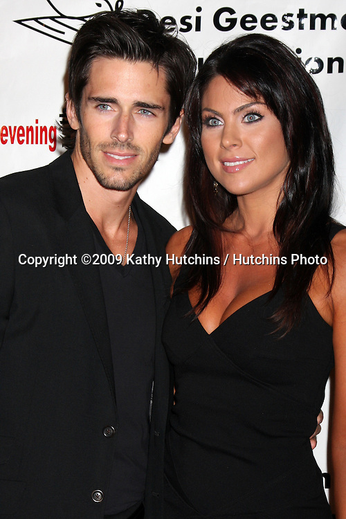 Brandon Beemer & Nadia Bjorlin.2009 Evening with the Stars Celebrity Gala for the Desi Geestman Foundation.Gilmore Adobe at Farmer's Market.Los Angeles,  CA.October 10,  2009.©2009 Kathy Hutchins / Hutchins Photo.