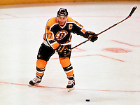 Ray Bourque Boston Bruins. Photo copyright F. Scott Grant