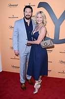 "LOS ANGELES, CA - MAY 30: Cole Hauser, Cynthia Daniel at the premiere party for Paramount Network's ""Yellowstone"" Season 2 at Lombardi House on May 30, 2019 in Los Angeles, California. <br /> CAP/MPI/DE<br /> ©DE//MPI/Capital Pictures"