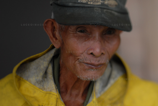 A Filipino man in Ilocos Norte, Philippines..**For more information contact Kevin German at kevin@kevingerman.com