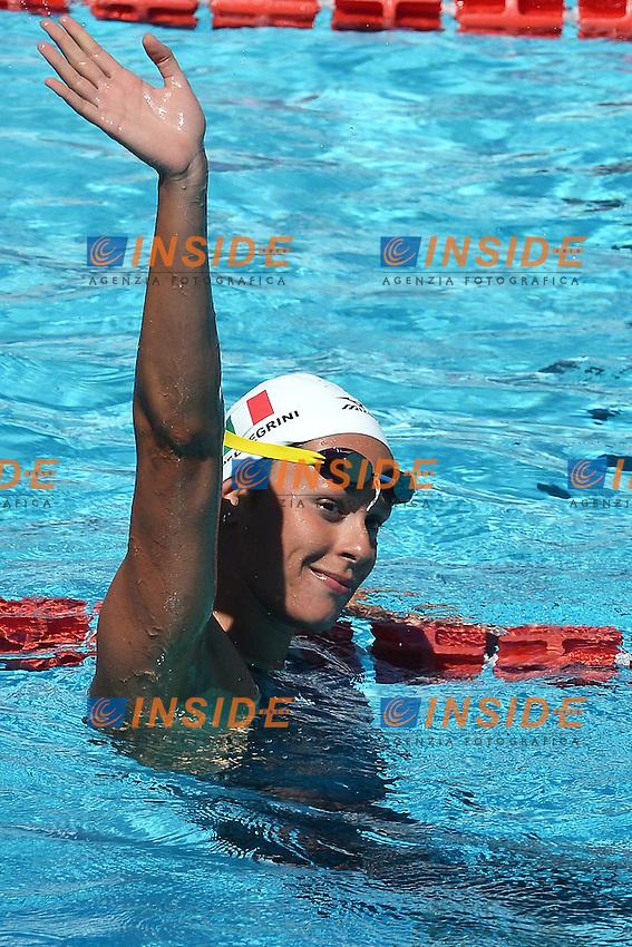 Federica Pellegrini Italy 200m freestyle women.Roma 16/6/2012 Foro Italico.Nuoto Swimming 49mo trofeo settecolli.Foto Andrea Staccioli Insidefoto