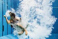 Francesca Dallape' (ITA)   Qualificazioni trampolino 3m femminile   Campionati Italiani assoluti di tuffi indoor    Torino 04/04/2014    Piscina Stadio Monumentale  Nuoto Tuffi    Foto Giorgio Perottino / Insidefoto