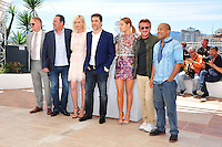 "Jared Harris, Jean Reno, Charlize Theron, Javier Bardem, Adele Exarchopoulos, Sean Penn and Zubin Cooper attends the ""The Last Face"" Photocall during the 69th Annual International Cannes Film Festival in Cannes, France, 20th May 2016. Photo Credit: Timm/face to face/AdMedia"