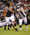 JASON CAMPBELL (2), of the Chicago Bears, in action during the Bears preseason game against the Denver Broncos on August 9, 2012 at Soldier Field in Chicago, IL. The Broncos beat the Bears 31-3.