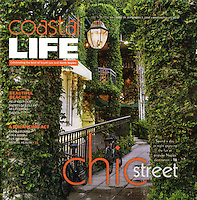 Coastal Life cover and editorial photos by Debi Pittman Wilkey