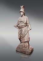 Roman statue of Athena. Marble. Perge. 2nd century AD. Inv no . Antalya Archaeology Museum; Turkey.