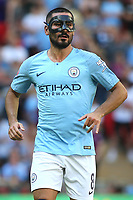 IIkay Gundogan of Manchester City during Chelsea vs Manchester City, FA Community Shield Football at Wembley Stadium on 5th August 2018