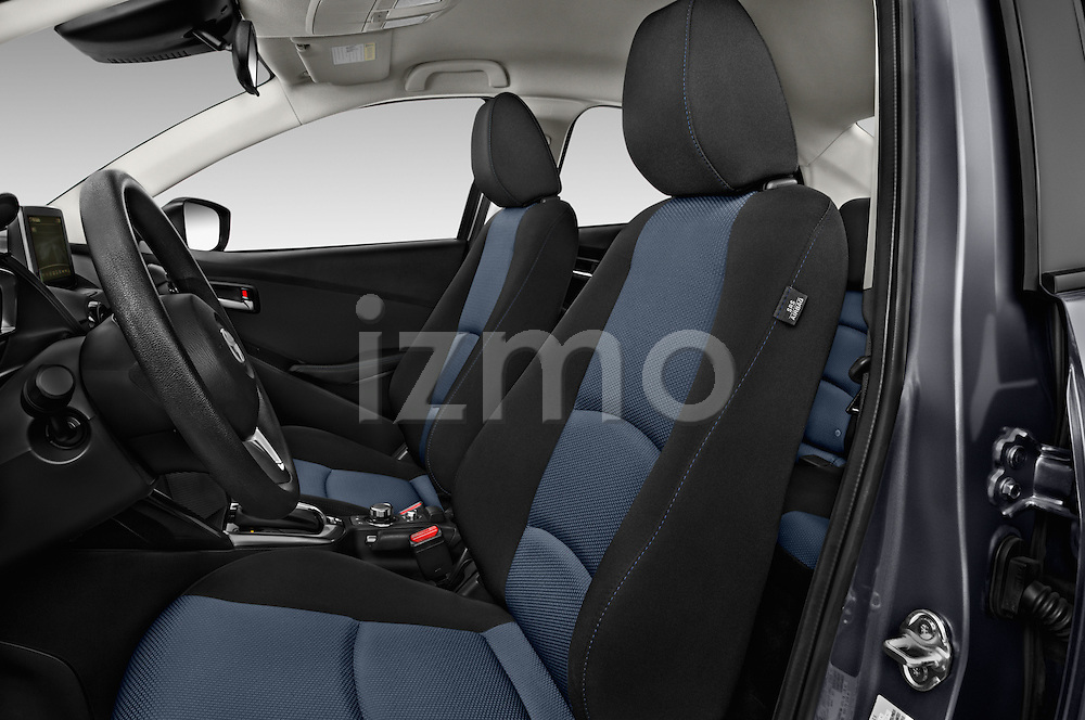 Front seat view of 2017 Toyota Yaris-iA AT 4 Door Sedan Front Seat  car photos
