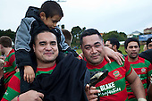 Ra Garmonsway and Maka Tatafu. Counties Manukau McNamara Cup Premier Club Rugby final between Pukekohe andWaiuku, held at Bayer Growers Stadium, on Saturday July 17th. Waiuku won 25 - 20.