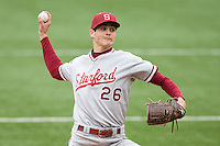Mark Appel  of the Stanford Cardinal against the Texas Longhorns at  UFCU Disch-Falk Field in Austin, Texas on Friday February 26th, 2100.  (Photo by Andrew Woolley / Four Seam Images)