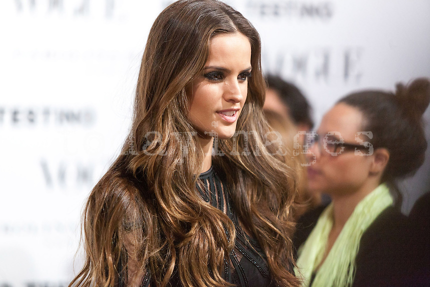 Izable Goulart at Vogue December Issue Mario Testino Party