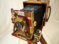 Sanderson tropical Half Plate wooden View Camera