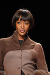 Supermodel Naomi Campbell walks the runway at the Sephora Fashion Week Live event outside The Galleria in Houston,Texas Thursday March 8,2007.