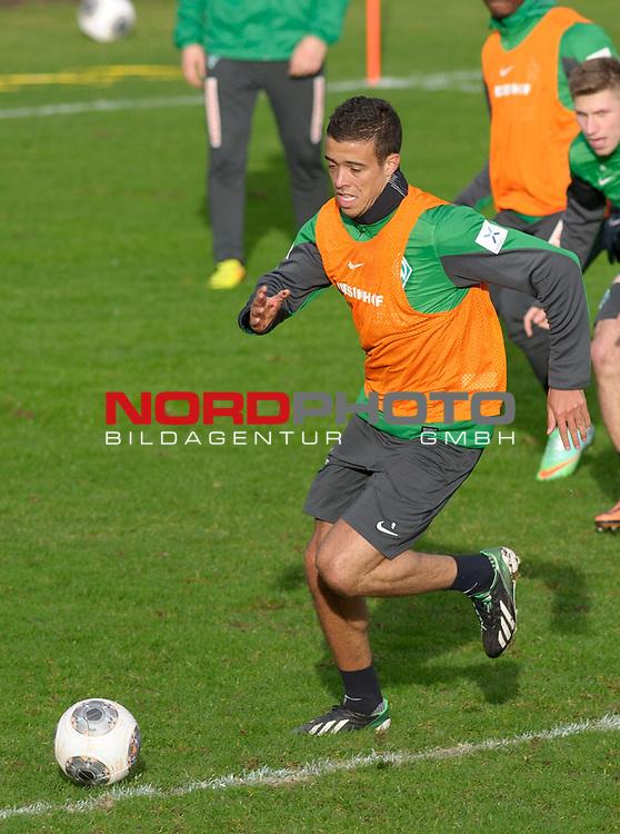 07.01.2014, Trainingsgelaende, Bremen, GER, 1.FBL, Training Werder Bremen, im Bild Franco Di Santo (Bremen #9)<br /> <br /> Foto &copy; nordphoto / Frisch
