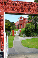 Otakou Marae in Otago, New Zealand