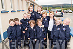 Matt and Paddy Cronin, Tate and Matthew Ryan, Lola and Tia Falvey, Rachel and Ciara Byrne, Ryan and Killian Hurley with Blathnaid and Ros Buckley, six sets of twins, all who attended their first day of school at St. Theresa's National School, Kilflynn, on Thursday, August 25th last.