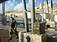 8. &quot;Checkpoint&quot;: entrance to Jerusalem.<br />