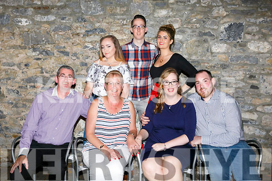 Tonya Horan,Shanakill, Tralee celebrates her 30th Birthday with family and friends at Benners Hotel on Saturday Pictured front l-r Paul Horan, Catherine Horan, Gerard Slevin Back l-r Rachael Horan, Paul Horan, JR, Lorraine Griffin