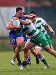Fox Memorial Rugby League, Howick Hornets v Pt Chevalier Pirates, Paparoa Park, Auckland, Saturday 5th August 2017. Photo: Simon Watts / www.bwmedia.co.nz