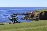 View from the 13th hole at Pebble Beach course during Friday's Round 2 of the 2018 AT&amp;T Pebble Beach Pro-Am, held over 3 courses Pebble Beach, Spyglass Hill and Monterey, California, USA. 9th February 2018.<br /> Picture: Eoin Clarke | Golffile<br /> <br /> <br /> All photos usage must carry mandatory copyright credit (&copy; Golffile | Eoin Clarke)