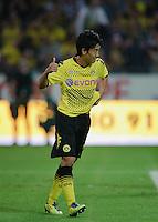 Fussball Bundesliga Saison 2011/2012 1. Spieltag Borussia Dortmund - Hamburger SV Shinji KAGAWA (BVB) mit Daumen hoch.