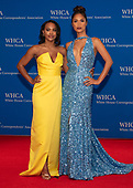 Jordan Emanuel and Geena Rocero arrives for the 2019 White House Correspondents Association Annual Dinner at the Washington Hilton Hotel on Saturday, April 27, 2019.<br /> Credit: Ron Sachs / CNP<br /> <br /> (RESTRICTION: NO New York or New Jersey Newspapers or newspapers within a 75 mile radius of New York City)