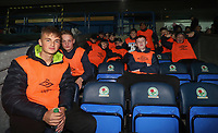 Blackburn Rovers Ball boys at the start of todays match<br /> <br /> Photographer Rachel Holborn/CameraSport<br /> <br /> EFL Checkatrade Trophy - Northern Section Group C - Blackburn Rovers v Bury - Tuesday 3rd October 2017 - Ewood Park - Blackburn<br />  <br /> World Copyright &copy; 2018 CameraSport. All rights reserved. 43 Linden Ave. Countesthorpe. Leicester. England. LE8 5PG - Tel: +44 (0) 116 277 4147 - admin@camerasport.com - www.camerasport.com