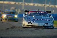 The #09 Flis Motorsports Chevrolet Corvette of Michael Ciasulli, Andy Pilgrim, Craig Conway, and Doug Goad races to a 22nd place finish the 24 Hours of Daytona, Daytona International Speedway, Daytona Beach, FL, February 3, 2002.  (Photo by Brian Cleary/www.bcpix.com)