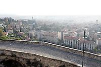 Veduta di Bergamo Bassa, dalla città' alta.<br /> Cityscape of Bergamo from the upper town.<br /> UPDATE IMAGES PRESS/Riccardo De Luca